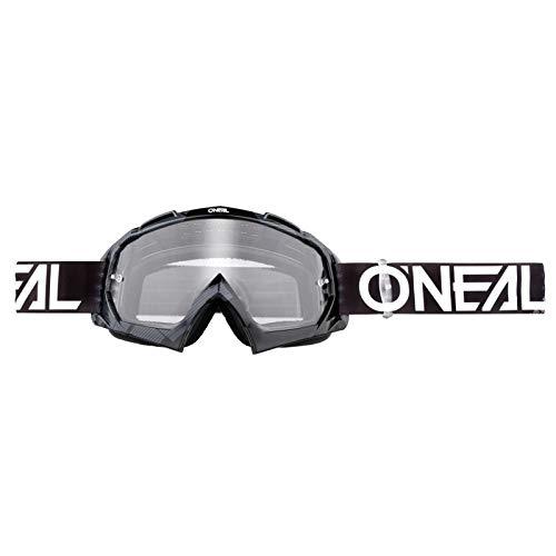 O'neal B10 Pixel Goggle Goggle MX DH Brille schwarz/grau/klar Oneal
