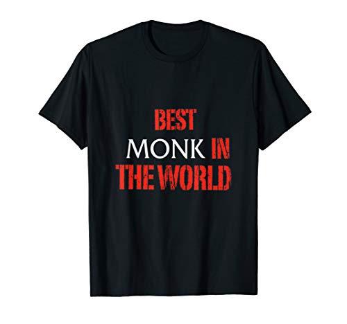 Bester Mönch der Welt Shirt T-Shirt (Der Welt Mönch In Ein)