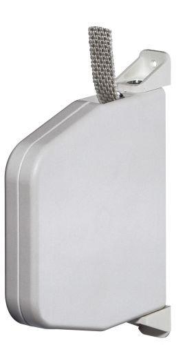 Selve Mini-Gurtwickler schwenkbar mit 5m Gurt 15mm breit Color weiß