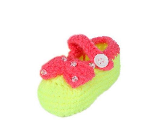 JTC Strickschuh One Size Baby Mit Süßen Muster Flaumweich Colour #3