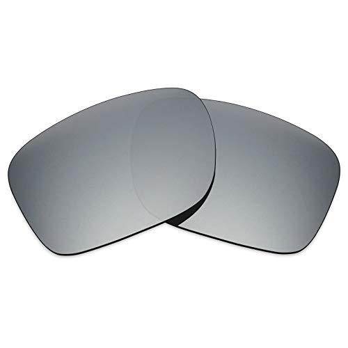 Lentes de repuesto MRY, polarizadas para gafas Oakley Holbrook, amplio abanico de colores Silver Titanium-Polarized