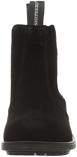 Shepherd SANNA OUTDOOR, Stivaletti Beatles Donna Nero (Schwarz (BLACK SUEDE 14))