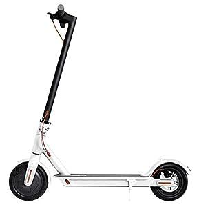 comprar piezas de vehiculos por internet: Xiaomi Mi Scooter - Patinete eléctrico plegable, 30 Km alcance, 25km/h, blanco