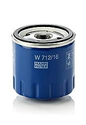 Original MANN-FILTER Ölfilter W 712/16 - Für PKW