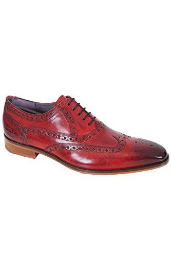 Melvin & Hamilton - Chaussure en cuir Melvin & Hamilton Lance 14 Rouge