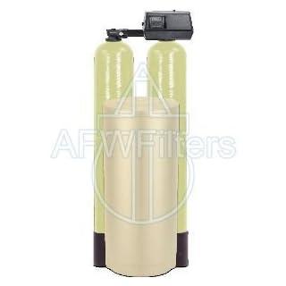 Fleck 9100SXT Dual tank water softener 48k, 48,000 grain with the digital 9100 sxt valve by Abundant Flow Water