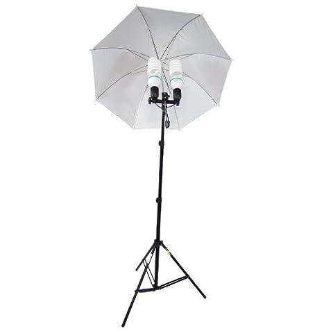DynaSun MM285800W Kit 2en 1, Illuminatore daylight Compact de Studio