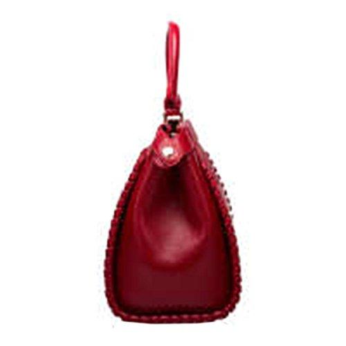 WU Zhi Lady In Pelle A Mano Spalla Sacchetto Del Messaggero Red