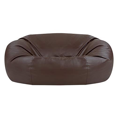 Bean Bag Bazaar® Riesiger Sitzsack Kunstleder - 160cm x 140cm - XXL Luxuriöser, Riesiger Sofa-Sitzsack