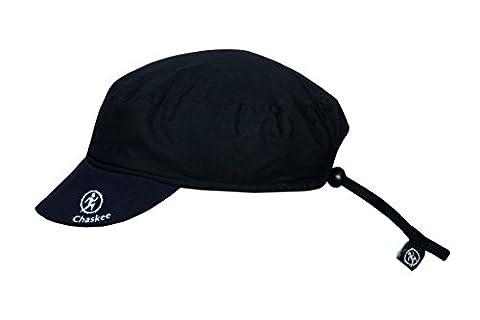 Chaskee Reversible Microfaser uni Cap Outdoorcap mit UV Schutz 80+ schwarz (Reversible Sonnenhut)
