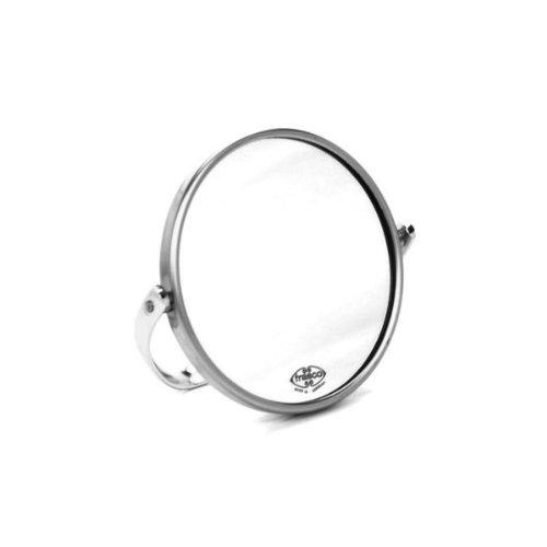 Frasco 98020144 Reisespiegel, Vergößerung: 5-fach Vergrößerung, Durchmesser: 7 cm, Chrom