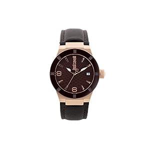Just Cavalli Reloj Analogico para Mujer de Cuarzo con Correa en Cuero JC1L017L0045