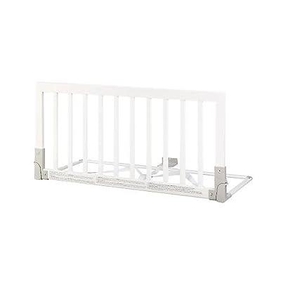 BABY DAN Barrière de sécurité pour lit en bois - 45 x 90 cm - blanc by 0