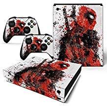 FriendlyTomato Skin für Xbox One X Konsole und Wireless Controller, Vinyl, Super Hero
