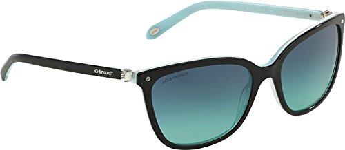 Tiffany & Co. Unisex TF4105HB Sonnenbrille, Schwarz (Black 81939S), One size (Herstellergröße: 55)
