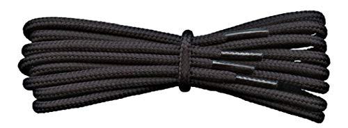 Fabmania Cordones Fuertes - Negro - 4 mm redondos