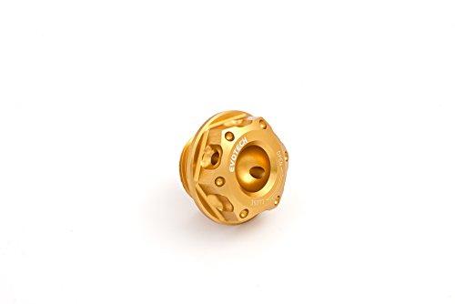 Tappo olio motore per modelli Aprilia e Suzuki (Oro)