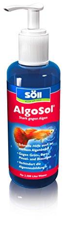 Söll 10880 AlgoSol - Aquaristik - Stark gegen Algen - 250 ml