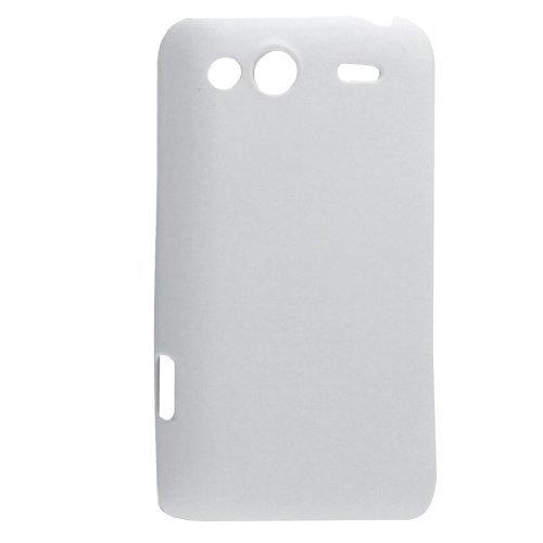 Gummierte Hartplastik-Schale Weiß für HTC Salsa G15