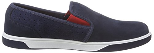 Timberland Groveton_Groveton Slip On, Sneakers basses mixte enfant Bleu (Navy)