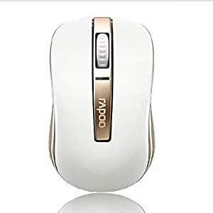 Brilliant- Rapoo 6610 de luxe en or à double couleur bluetooth moding souris sans fil 1000 dpi