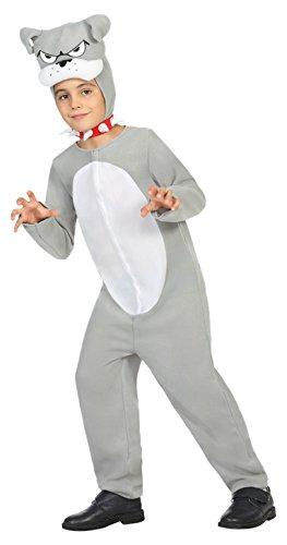 Atosa 22033 - Grauer Hund, Jungenkostüm, Größe (Kostüme Affe Hund)
