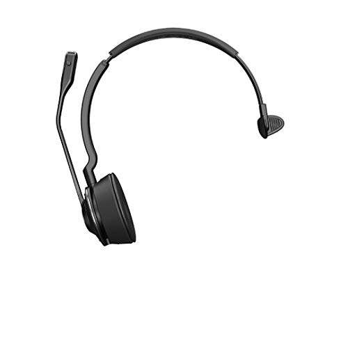 Jabra Engage 75 Mono Wireless-Profi-Headset mit DECT/Bluetooth für 5 Endgeräte (Softphone/Festnetz- + Analog-Telefon/Handy/Tablet), inkl. Ladeschale (Bluetooth-telefon)