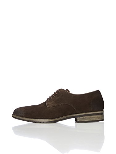 FIND Herren Wildlederschuhe, Braun (Brown), 46 EU