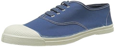 Bensimon Tennis Lacet Vintage, Baskets Basses Homme, Bleu (Bleu Petrole), 46 EU