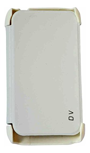 XRIS Original flip cover / Case for HTC Desire V - White  available at amazon for Rs.145