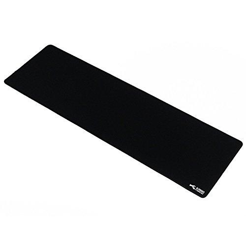 Preisvergleich Produktbild Glorious verlängerter Gaming Mauspad / Pad,  Groß XXL,  breit (lang) schwarz Mousepad,  genähte Kanten / 91, 4 x 27, 9 x 0, 3 cm (g-e)