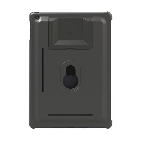 Exelium UP130G Set für iPad Air: Wandhalterung, Schutzhülle und Standfuß System, nutzbar vertikal (25°/60) und horizontal (25°/60°), grau