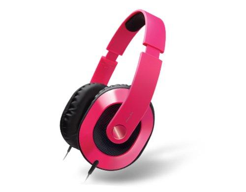Creative HQ-1600 Kabelgebundene Kopfhörer (Langanhaltender Tragekomfort) pink Creative Labs Stereo-headset