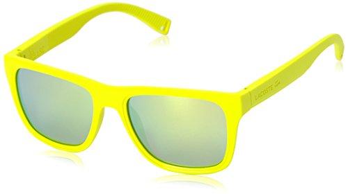 Lacoste Herren L816S 750 54 Sonnenbrille, Gelb (Matte Lemon),