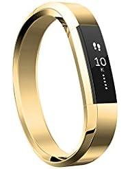 Fitbit Alta Luxe Ersatzband Unisex Einheitsgröße gold