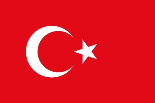 Aufkleber Fahne der Türkei Flaggen Sticker Autoaufkleber