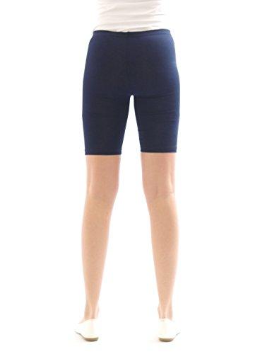 yeset - Short - Relaxed - Uni - Femme Bleu - Bleu foncé