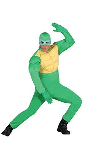 Ninja Schildkröte - Kostüm für Herren Gr. M/L, Größe:L (Ninja Turtle Kostüm Lustig)