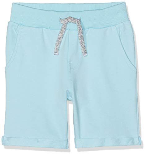 Name IT NOS Jungen NKMVERMO Long SWE UNB NOOS Shorts, Türkis (Petit Four), (Herstellergröße: 122) - Petite Hose Hosen