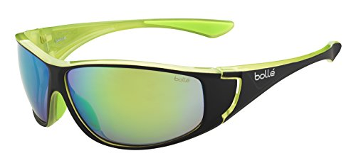 Bollé Sonnenbrille Highwood, Shinyack/Lime/Brown Emerald, 12025