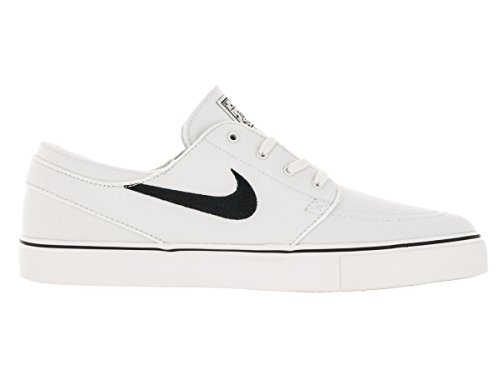 Nike Zoom Stefan Janoski Cnvs 100, Baskets Mixte Adulte Ivoire (Summit White/black 615957-100)