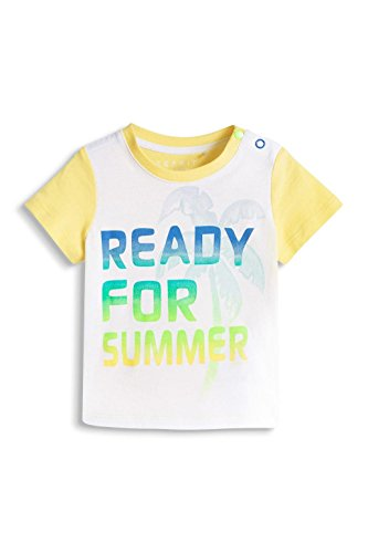 ESPRIT Baby - Jungen T-Shirt Ready for TS, Gr. 62, Gelb (BRIGHT YELLOW 740)