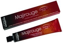 Loreal Majirouge 6,66 Scuro Extra Rosso Biondo Colore Dei Capelli / Tinta 50ml Tubetto