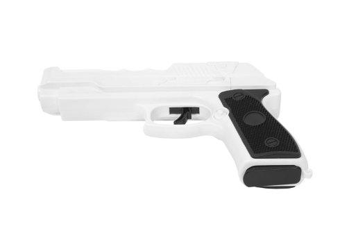 Precision FX Pistole inklusive eingebautem Nunchuk für Wii und Wii U (Die Evil Resident Wii Für Spiel)