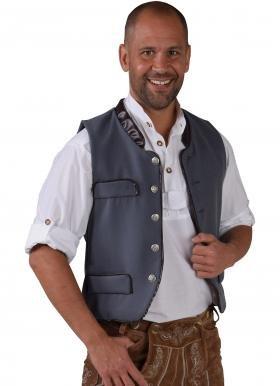Panelize Trachtenweste Oktoberfest Herrentrachtenweste Trachtenkleidung (XL)