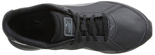 Puma Descendant Sl Jr, Chaussures de sports extérieurs garçon Noir (Black/Black/Black)