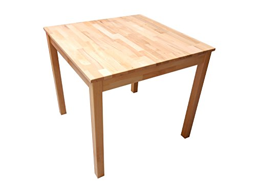 SAM® Stilvoller Esszimmertisch Volker aus Kernbuche, Massiv-Tisch mit pflegeleichter Oberfläche, natürliche geölte Optik, ideal kombinierbar mit anderen Möbeln, 120 x 80 cm [536262696]