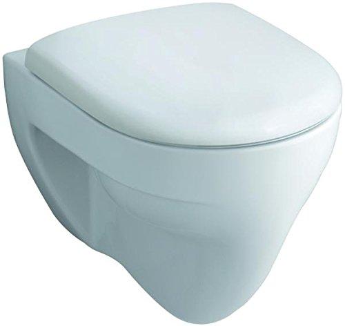 Preisvergleich Produktbild Keramag WC-Sitz Renova Nr.1 mit Deckel, Scharniere Metall, weiß, 573015000