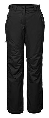ICEPEAK Hose Josie - Pantalones de esquí para mujer, color negro, talla DE: 38