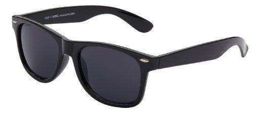 Sonnenbrille Nerdbrille retro Art. 4026-1 Rahmen: schwarz, Gläser: schwarz